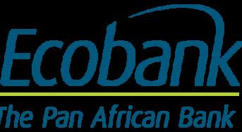 Ecobank Nigeria Customers Can Now Transfer Money Via SMS, WhatsApp