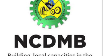 NCDMB To Create More Local Content Opportunities In Nigeria's Deep Water Oil Exploration