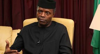 Osibanjo To Declare National  Insurance Conference Open  ….. Adeosun, Ovia, Others To Grace Confab