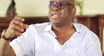 Fayose taunts Fayemi, says he'll be defeated again