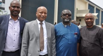 House Committee On Banking & Currency Pays Surprise Visit To Arik Air