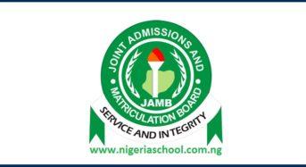Jamb Extends 2018 Utme Registration
