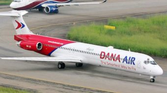 Dana Air WinsATQ's Most Stable Domestic Carrier Award