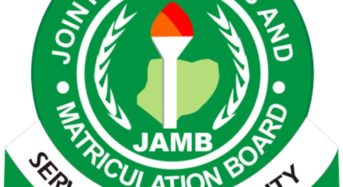 UTME: JAMB Begins 2019 Registration In December