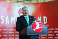 Turkish Airlines Added Samarkand To Its Flights Network.