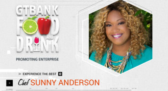 Food Network Star, Sunny Anderson Is Bringing Her Unique Flavours To The GTBank Food And Drink Fair