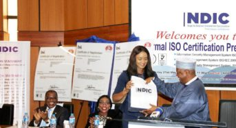 NDIC Bags Three ISO Certifications