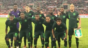 Nigeria Invites 23 Players For Super Eagles Friendly With Atletico Madrid