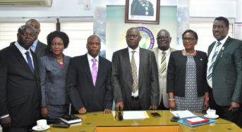 Faces At IICC Media Briefing Today At CIIN, Lagos.