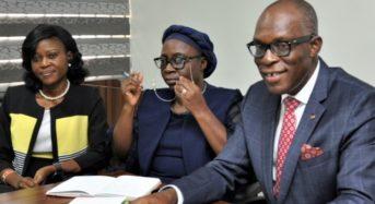 Faces At Nigeria Insurers Association (NIA) Press Briefing Today At The Association Secretariat.