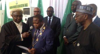 Photo News : Change Of Barton Of NIA Chairman: From Efekoha To Smart