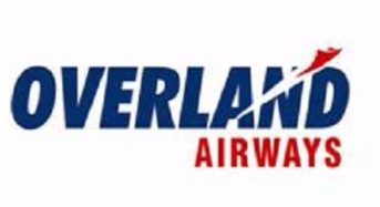 COVID-19 (Coronavirus): Overland Airways Announces Temporary Closure Of Scheduled Operation March 28 To April 5, 2020