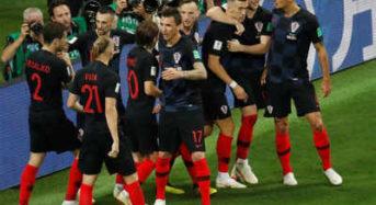 Croatia Dash England's World Cup Hope, Qualify For Final