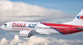 Dana Air Flies 2.7 Million Passengers In 10 Years  ..Celebrates A Decade Of Service In Nigeria