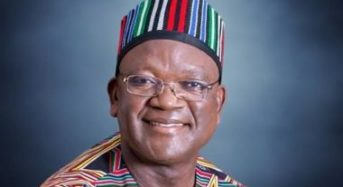 Gov. Ortom Leaves APC