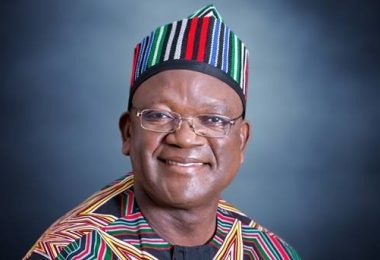 Gov. Ortom Leaves APC