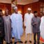Photo News: PMB Meeting With Vice President, Senate President And Governors.