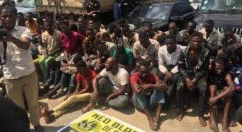 Lagos Police Makes Huge Arrests Of Suspected Cultists