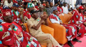 Ekiti Election: Embattled President Buhari Urges APC To Shun Fayose's Stomach Infrastructure