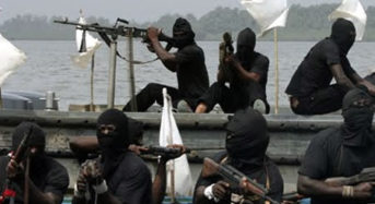 Suspected Pirates kidnaps 12 From Swiss Vessel Along Nigerian Coastal Waters