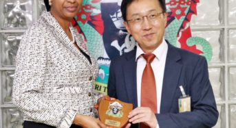 Consul General, Embassy of the Republic of Korea (Lagos), Kim In-Taek Visit To NPA Inbox x