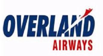 Overland Airways Expands W/Africa Flight Network
