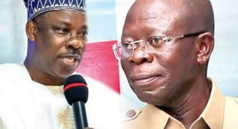 2019: Oshiomhole Believes Amosun, Okorocha Will Help APC during 2019 Elections