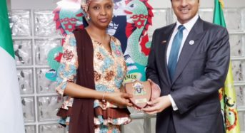 The MD NPA Receives the Ambassador of the UAE in Lagos