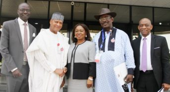 Senate Committee on Capital Market Oversights Visit to SEC in Abuja yesterday