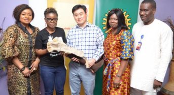 Irede Foundation Amputees get SNEPCo's artificial limbs