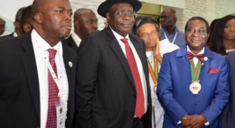 At the opening ceremony of the 2018 edition of the annual conference and exhibition of NAPE in Lagos …on Tuesday