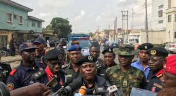 Lagos Police Assures Of Violence Free Elections..Mobilises 2,300 Security Personnel For Mock Exercise