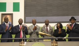 NAHCO Plc during a Closing Gong Ceremony At The Stock Exchange