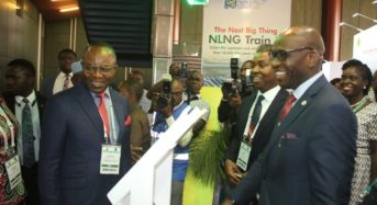 At The Ongoing Nigeria International Petroleum Summit (NIPS) 2019, in Abuja
