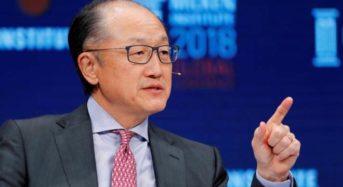 World Bank President Kim Quits