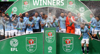 Man City beat Chelsea on penalties to win Carabao Cup