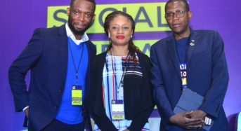 At The Money Management Tips For Your Enterprise' at the Social Media Week Lagos, Yesterday