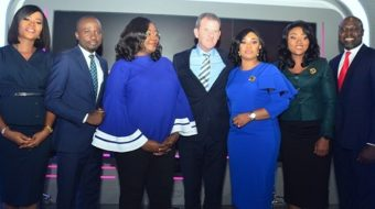 At The Unveiling Of A Brand-New High Definition News Studio At Its Headquarters in Lagos