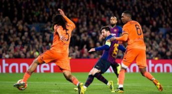 Barcelona Thrashes Lyon To Qualify For Champions League Round Of Eight