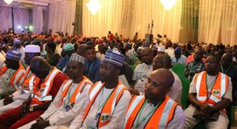 Faces At The Micro Pension Plan Launch By President Muhammadu Buhari.