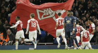 Arsenal beat Man Utd to end Solskjaer's unbeaten run