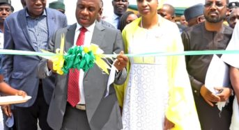 At The Establishment Of Ultra-Modern Marine And Harbour Simulation Centre At Dockyard Apapa.