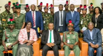 Accounting Department of the Nigerian Defence Academy (NDA)'s Visit To AMCON