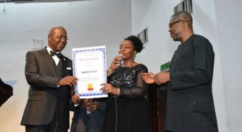 At the conferment of Award on NAHCO