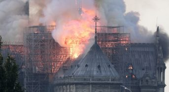 Notre Dame Cathedral 'saved from total destruction'