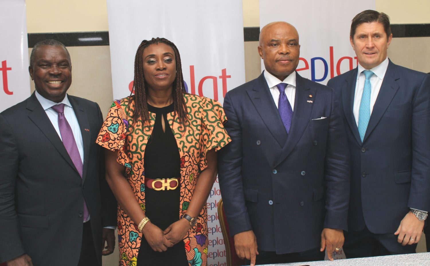 Pic 1 (16.43.47) L-R: Mr. Austin Avuru, Chief Executive Officer, Seplat Petroleum Development Company Plc; Company's Secretary, Mrs. Mirian Kachikwu; Dr. A.B.C. Orjiako, Chairman; Mr. Roger Brown, Chief Financial Officer, during the company's 6th Annual General Meeting held in Lagos, yesterday.
