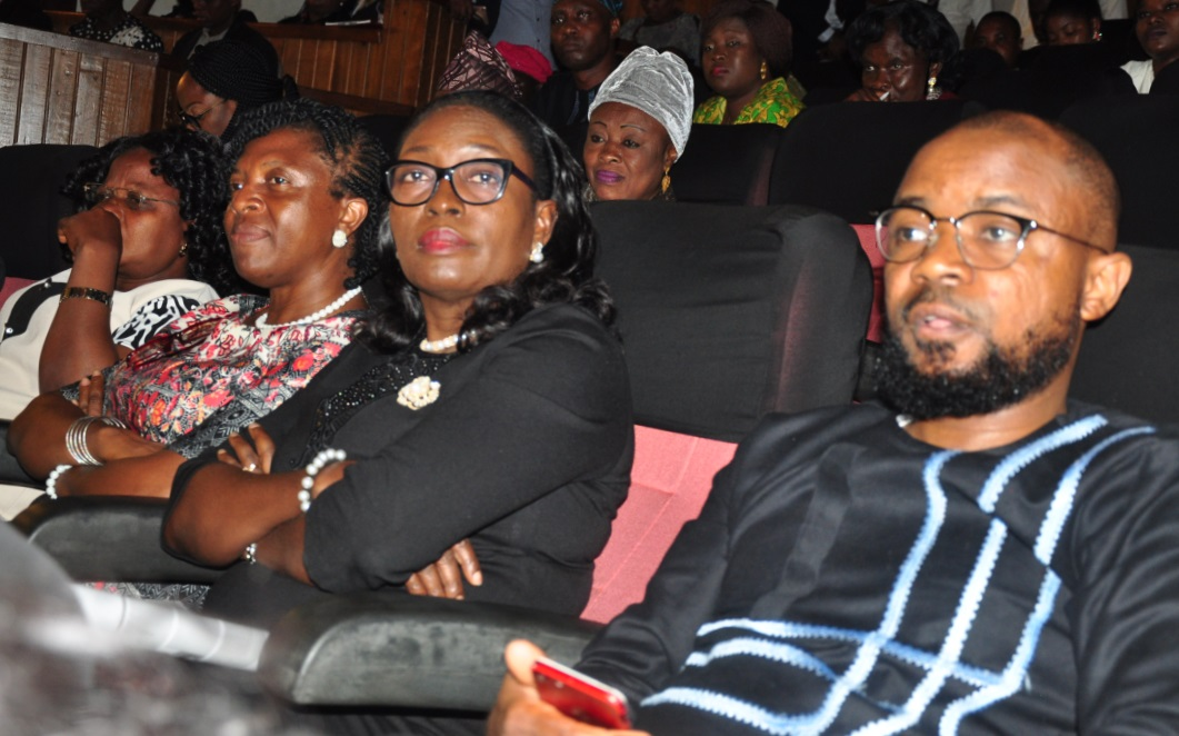 L-R: Omowumi Adigun, a shareholder; Mrs Gloria Edemard, Branch Manager, CHI Plc, Lagos Island; Mrs Ose Oluyanwu, Regional Director and Ayo-Bankole Akintujoye, Head, Strategy & Corporate Planning