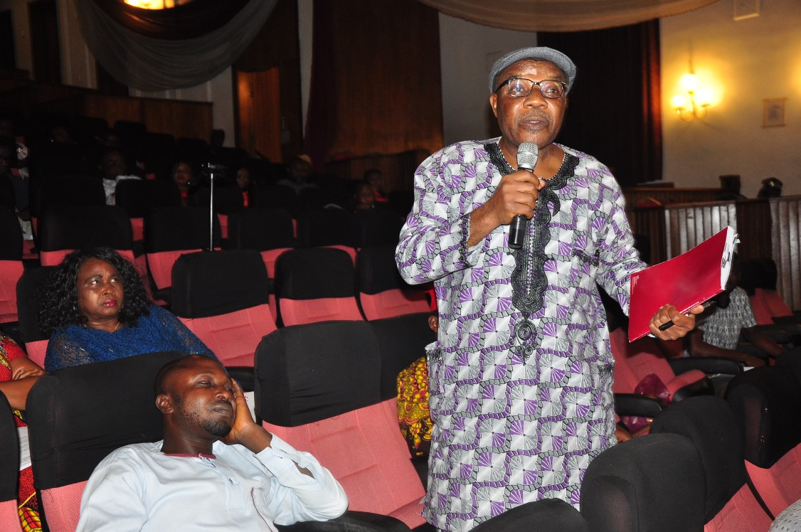 L-R: Dr, Tony Anonyal, Chairman Audit Committee; Mr. James Emadoye, and Mr. Simon Okiotorhoto, both members of Audit Committee