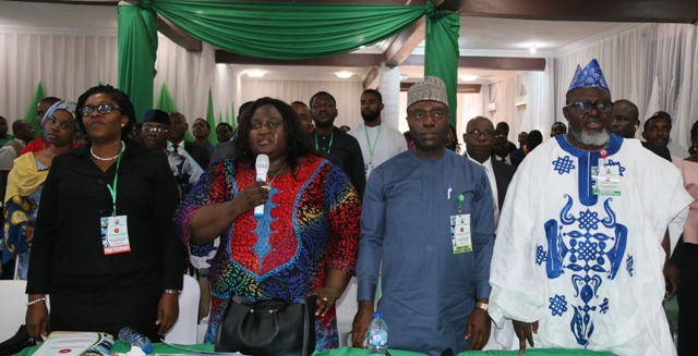 "Pic showing L-R: Permanent Secretary, Anambra state Tertiary Education, Science & Tech, Mrs. Nwaudu, Hon. Commissioner, Ministry of Science and Technology, Anambra State, Prof. Theresa Nkechi Obiekezie, Permanent Secretary (FMC), Mr. Musa Istifanus and Minister of Communications, Dr. Adebayo Shittu during 2nd Phase Sensitization Workshop on National ICT Roadmap for the South East East which has its theme as 'The role of the Private sector in the implementation of the Nigeria ICT Roadmap"" held in Awka, Anambra State."