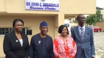 NACCIMA Photo News: At the Commissioning of Ide Udeagbala Business Centre at Naccima secretariat, Ikeja,Lagos.